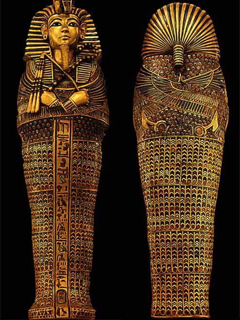 В Египте оригиналы гробниц